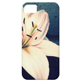 淡いピンクのワスレグサ iPhone SE/5/5s ケース