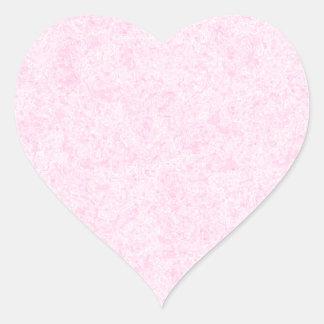 淡いピンクの任意背景パターン ハートシール