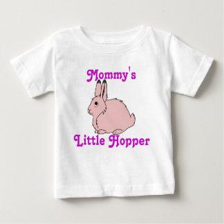 淡いピンクの北極ノウサギ ベビーTシャツ