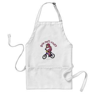 淡いピンクの女の子BMX スタンダードエプロン
