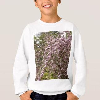淡いピンクの木の花 スウェットシャツ