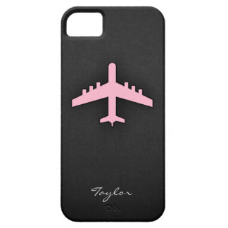 淡いピンクの飛行機 iPhone 5 ケース