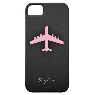 淡いピンクの飛行機 iPhone SE/5/5s ケース