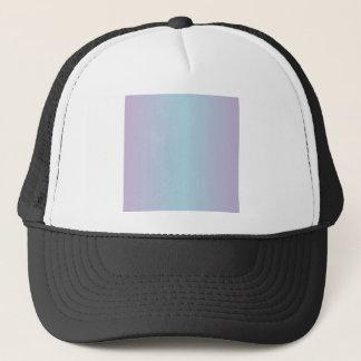 淡いブルーおよび薄紫の勾配 キャップ