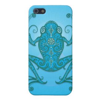 淡いブルーのアマガエル- iPhone 5 COVER