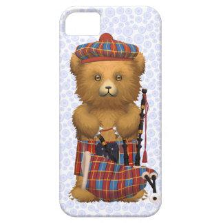 淡いブルーのスコットランドのテディー・ベア- iPhone SE/5/5s ケース