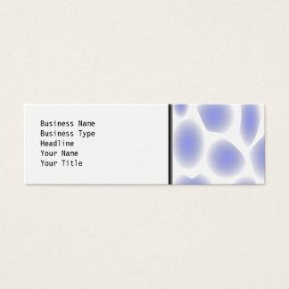 淡いブルーのパターン スキニー名刺