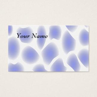 淡いブルーのパターン 名刺