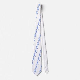 淡いブルーのリボン オリジナルタイ