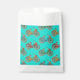 淡いブルーの自転車の好意のバッグ フェイバーバッグ