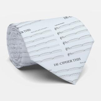 淡いブルーの解読オルガン奏者のためのこのタイ ネクタイ