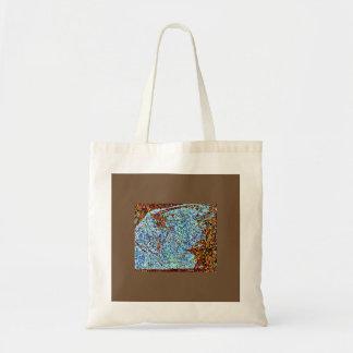淡いブルーの(昆虫)オオカバマダラ、モナーク トートバッグ