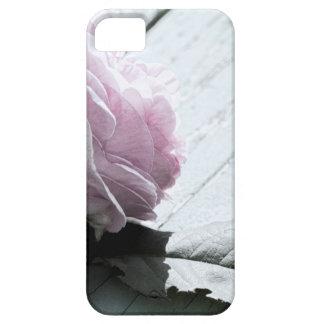 淡い色のなパステル調の長い茎はデッキに上がりました iPhone SE/5/5s ケース