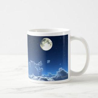淡い色のな月光のマグ コーヒーマグカップ