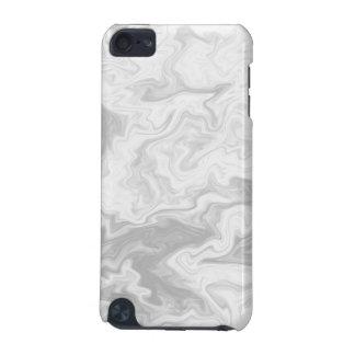 淡い色のな灰色の任意パターン iPod TOUCH 5G ケース