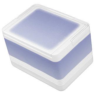淡い色のな紫色のグラデーション IGLOOクーラーボックス