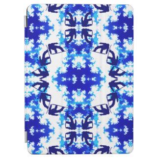 淡青色のスノーボーダーの空のタイルのスノーボードのスポーツ iPad AIR カバー