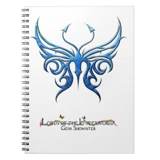 淡青色の蝶ノート! ノートブック