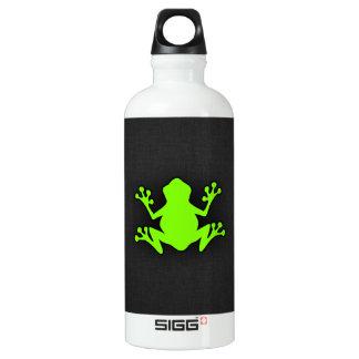 淡黄緑、ネオン緑カエル ウォーターボトル