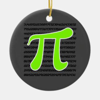淡黄緑、ネオン緑Piの記号 セラミックオーナメント