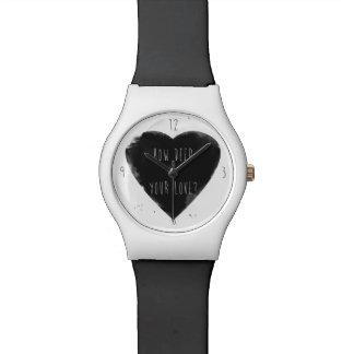 深いあなたの愛がいかにか 腕時計