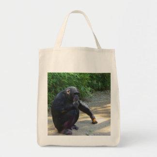 深いの思考のチンパンジー トートバッグ