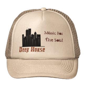 深い家、音楽のための、精神のトラック運転手の帽子 ハット