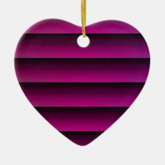 深い明るい赤紫色 セラミックオーナメント