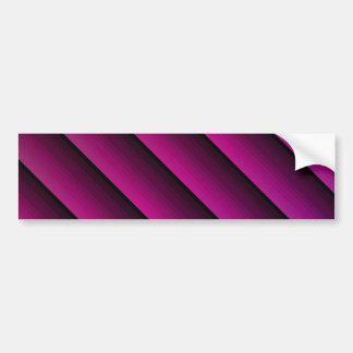 深い明るい赤紫色 バンパーステッカー