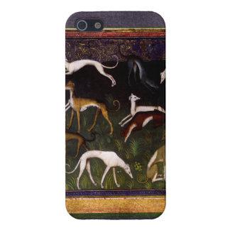 深い森林の中世グレイハウンド iPhone 5 COVER