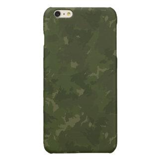 深い森林カムフラージュ 光沢iPhone 6 PLUSケース