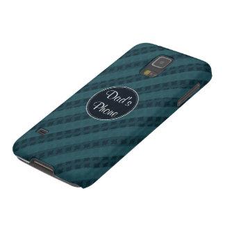 深い水の濃紺の魅力的で上品な電話箱 GALAXY S5 ケース