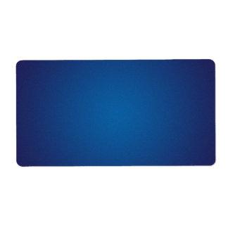 深い濃紺の粒状のヴィグネット ラベル