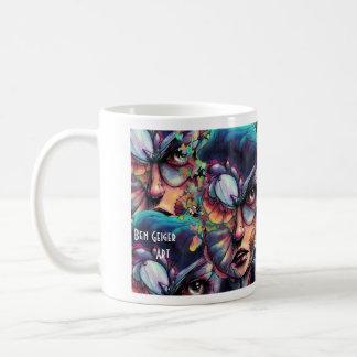深い青の捜索 コーヒーマグカップ