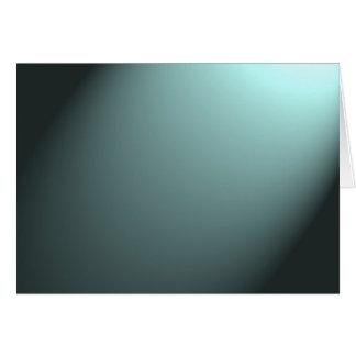 深い青緑の光ビーム カード