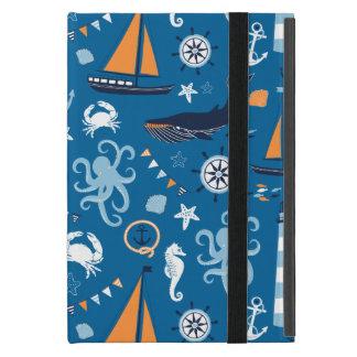 深い青航海のなすべての事 iPad MINI ケース
