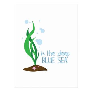 深く青い海 ポストカード