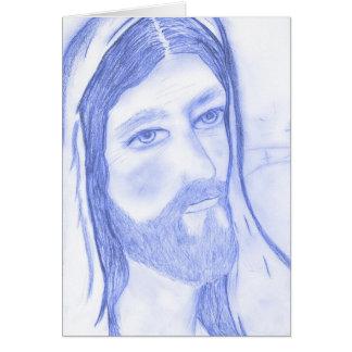深刻なイエス・キリスト カード