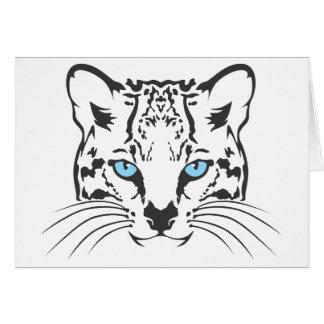 深刻なオセロット猫 カード