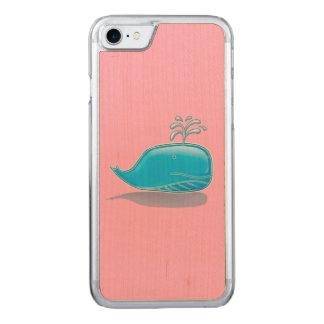 深刻なクジラ CARVED iPhone 8/7 ケース