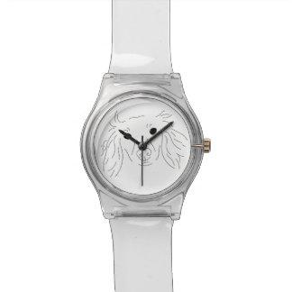 深刻なダックスフントの腕時計 腕時計