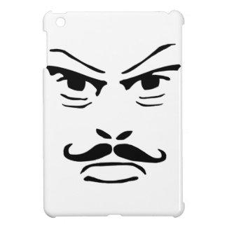 深刻な口ひげの人 iPad MINI カバー