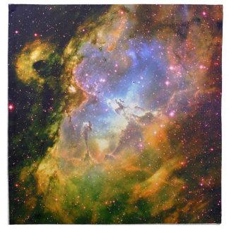 深宇宙の星雲 ナプキンクロス