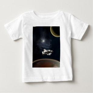 深宇宙-空想科学小説の巡洋戦艦 ベビーTシャツ