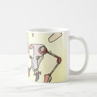 深海のダイバー コーヒーマグカップ
