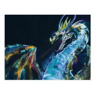 深海のドラゴン ポストカード