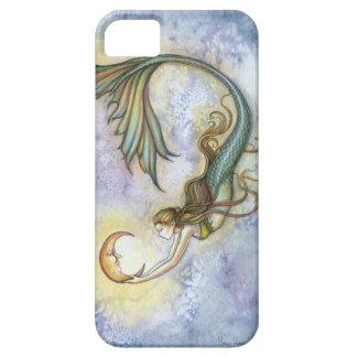 深海の月の人魚のファンタジーの芸術のiPhone 5の場合 iPhone SE/5/5s ケース