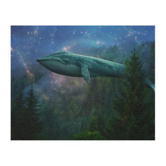 深海の森林 ウッドウォールアート