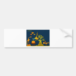 深海の誕生日5x7.jpg バンパーステッカー