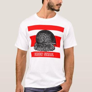 """深海の鉄のかたつむり""""うろこ状足"""" Tシャツ"""
